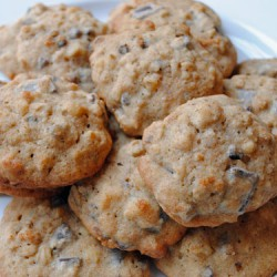 Banana Walnut Chocolate Chunk Cookies