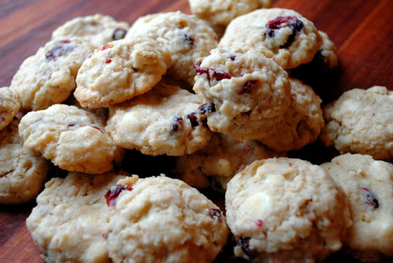 Cranberry White Chip Oatmeal Cookies