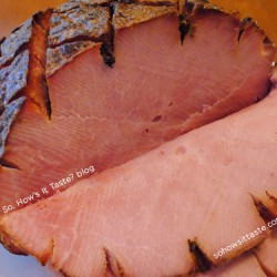 Whiskey Glazed Ham by So, How's It Taste