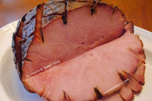 Whiskey Glazed Ham by So, How's It Taste
