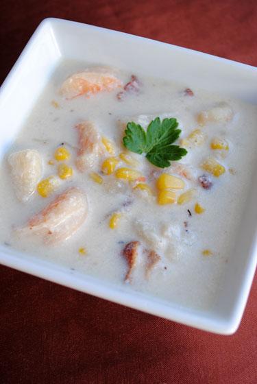Corn & Shrimp Chowder