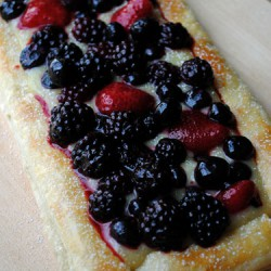 Gingered Lemon Berry Tart