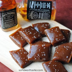 Salted Whiskey Caramels by So, How's It Taste