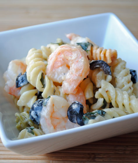 Shrimp & Feta Rotini
