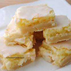 Sunburst Lemon Bars by So How's It Taste