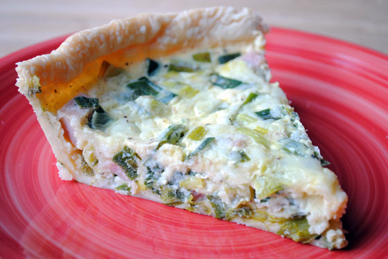 So, How's It Taste? Ham & Leek Quiche
