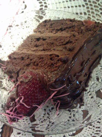 Burdett's Chocolate Cake