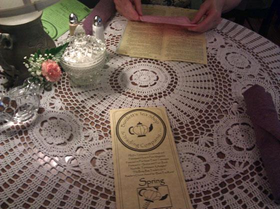 Burdett's Table