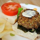 Dijon & Wild Rice Turkey Burger