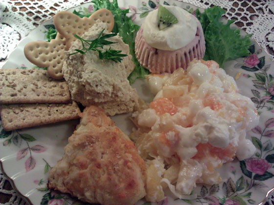 Burdett's Salad Jumble Plate