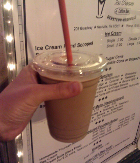 Mike's Chocolate Milkshake