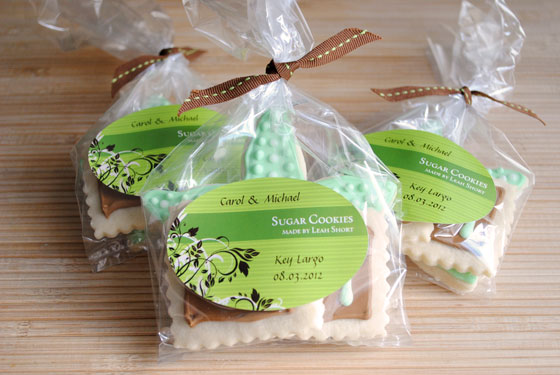 Packaged Starfish & Initial Cookies