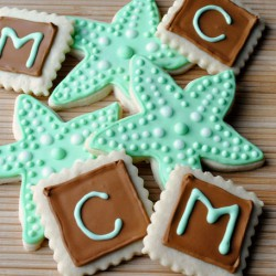 Starfish & Initial Sugar Cookies