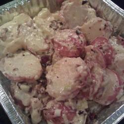 Hot Bacon Potato Salad