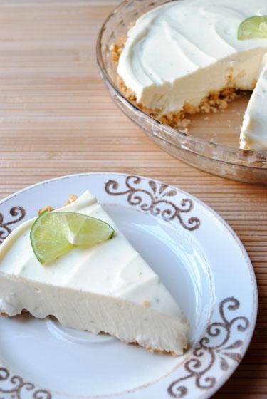 Key Lime Pie with Pretzel Crust