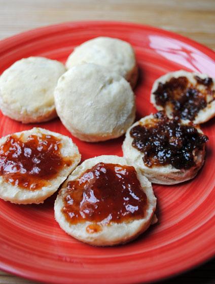 Lightened Buttermilk Biscuits