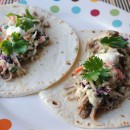 Slow Cooker Pork Tacos with Spicy Citrus Slaw
