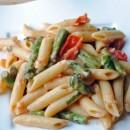 Tomato & Asparagus Carbonara