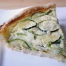 Zucchini & Caramelized Onion Quiche