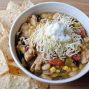 Chicken & Three Bean Chili Verde