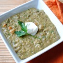 Curried Green Lentil Soup