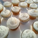 Mini Champagne Cupcakes