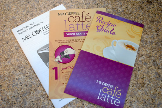 Mr. Coffee Cafe Latte Manual