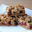 Oatmeal Cranberry Sour Cream Bars | So, How's It Taste?