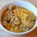 Pierogi, Sausage & Squash Stew