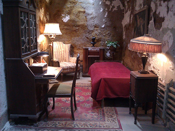 Eastern State Penitentiary Al Capone's Cell