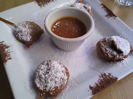 Philadelphia Bar & Restaurant Fried Oreos