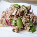 Snap Pea & Brown Rice Salad