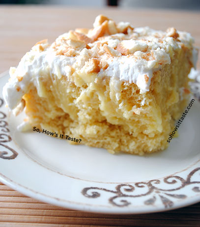 Banana Pudding Poke Cake | by So, How's It Taste
