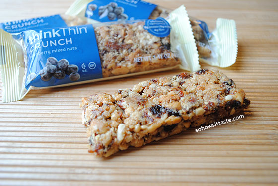 Blueberry Mixed Nuts Crunch by So, How's It Taste