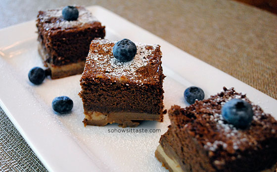 Chocolate Magic Custard Cake by So, How's It Taste