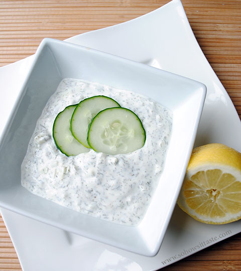 Tzatziki Sauce by So How's It Taste?