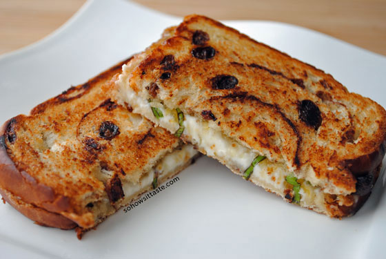 Goat Cheese Sandwich with Fig and Honey by So, How's It Taste? www ...
