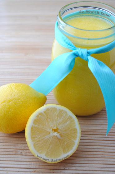 Lemon Curd by So, How's It Taste? www.leah-claire.com