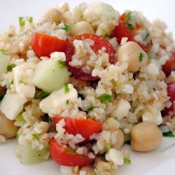 Middle Eastern Bulgur Salad by So, How's It Taste? www.leah-claire.com