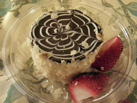 Omni Parker House Boston Cream Pie on So, How's It Taste? www.leah-claire.com