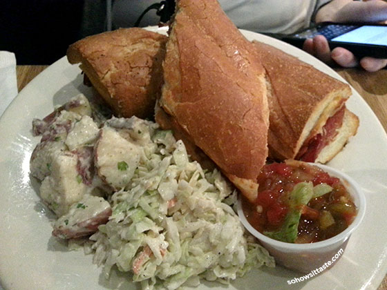 The Burke Parish Cafe on So, How's It Taste? www.leah-claire.com