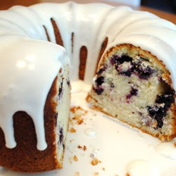Blueberry Buttermilk Bundt Cake by So, How's It Taste? www.leah-claire.com