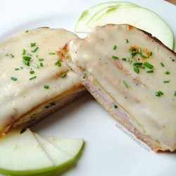 Hard Apple Cider Croque Monsieur by So, How's It Taste? www.leah-claire.com