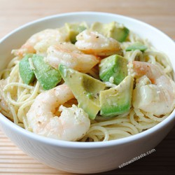 Monterey Shrimp Pasta by So, How's It Taste? www.leah-claire.com