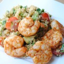 Spicy Grilled Shrimp and Quinoa Salad by So, How's It Taste?