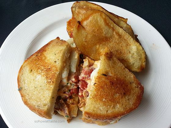Etch White Bean Patty Melt on So, How's It Taste? www.sohowsittaste.com