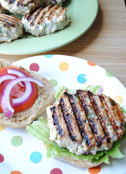 Garden Turkey Burger by So, How's It Taste? www.sohowsittaste.com