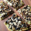 Mushroom Pesto Pizza by So, How's It Taste? www.sohowsittaste.com