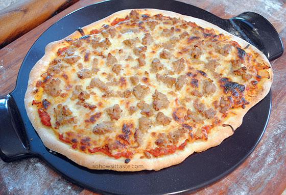 Pizza Arrabbiata by So, How's It Taste? www.leah-claire.com
