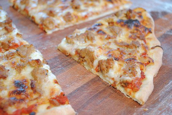 Pizza Arrabbiata Slice by So, How's It Taste? www.leah-claire.com